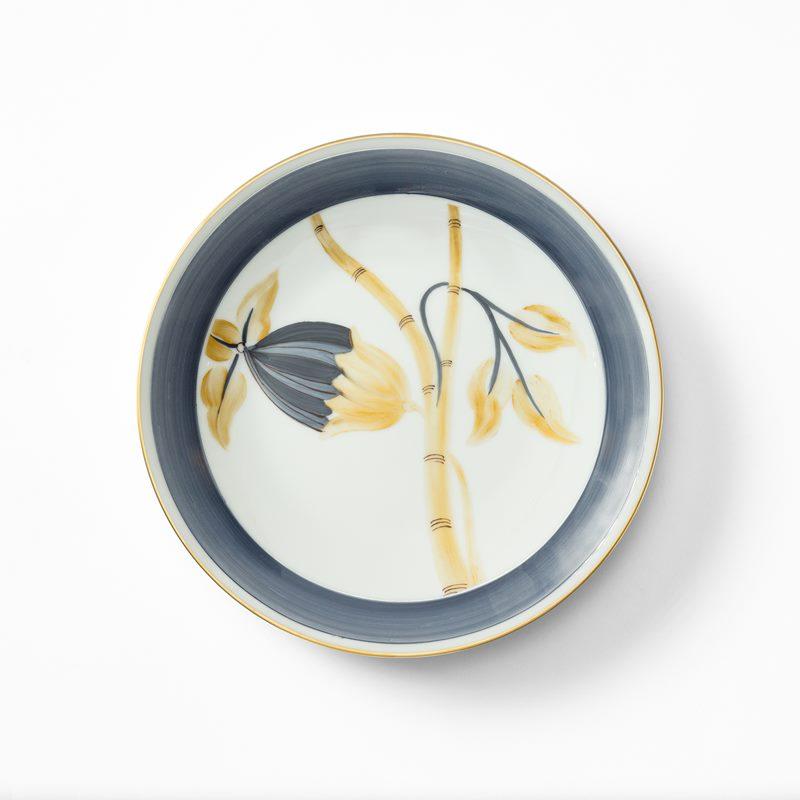 Service Marie Daage - Porcelain, Side Plate, Blue Gold | Svenskt Tenn