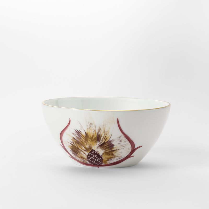 Service Marie Daage - Bowl, Red Gold | Svenskt Tenn