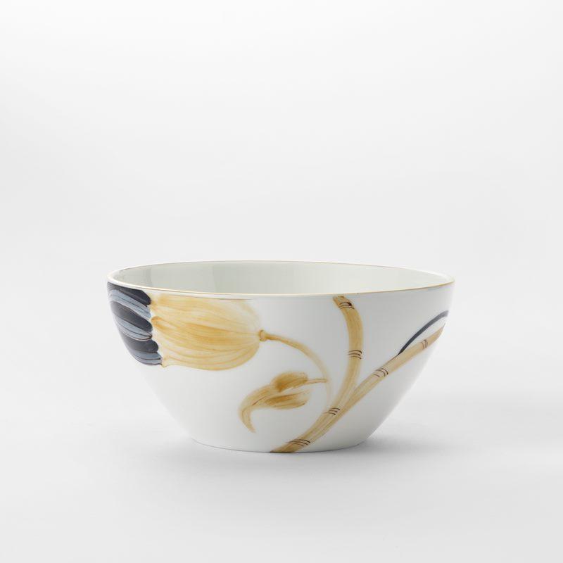 Service Marie Daage - Bowl, Blue Gold | Svenskt Tenn