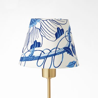 Lampshade 2444 - Height 15 cm, Cotton, La Plata, Josef Frank/Svenskt Tenn | Svenskt Tenn
