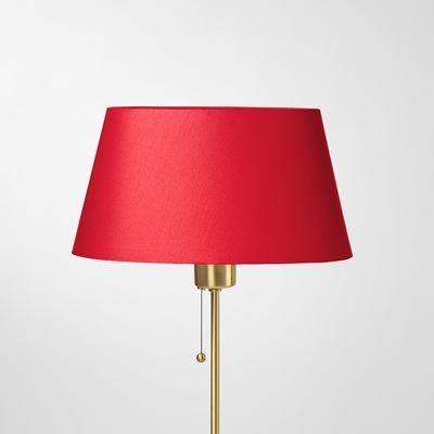 Lampshade 2548 shade carrier cotton satin red svenskt tenn svenskt tenn