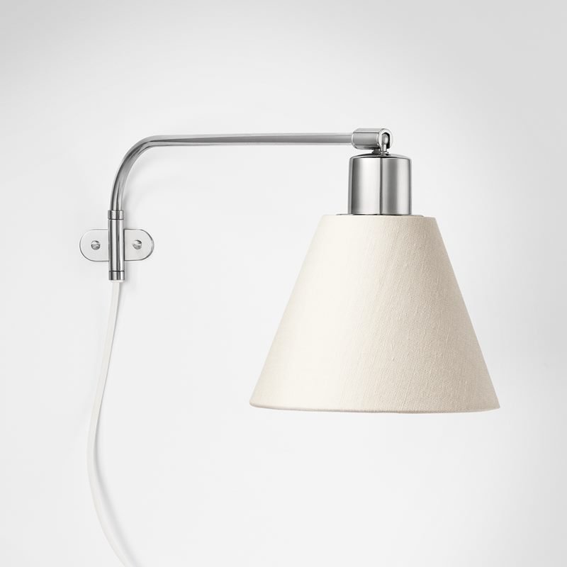 Wall Lamp 2226 - Nickel plated Brass | Svenskt Tenn