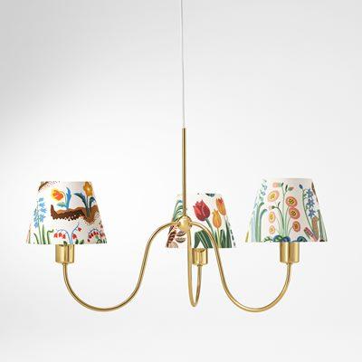 Ceiling lamp 2444 brass josef frank svenskt tenn