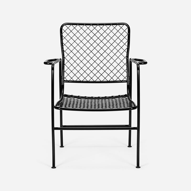 Armchair 591 - Iron, Black | Svenskt Tenn