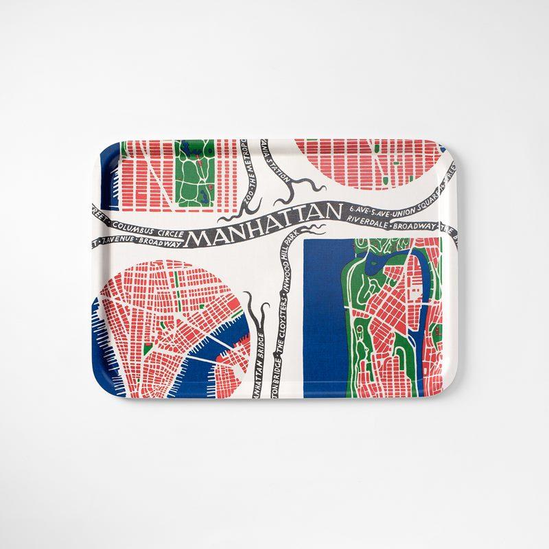 Tray Manhattan - 53x38 cm, Manhattan, Rectangle | Svenskt Tenn