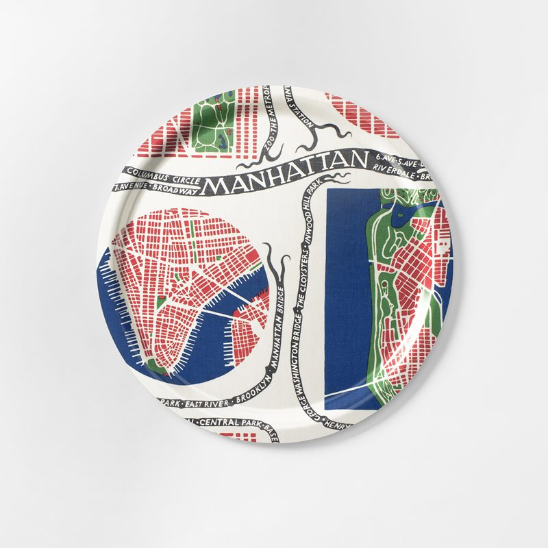 Tray Manhattan - 49 cm, Manhattan, Round | Svenskt Tenn
