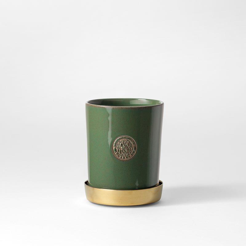 Pot Svenskt Tenn - 9,5 cm, Stoneware, Verdigris | Svenskt Tenn