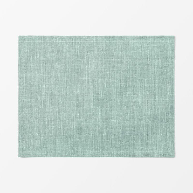 Tablett Svenskt Tenn Lin - 35x45 cm, Lin, Aqua | Svenskt Tenn