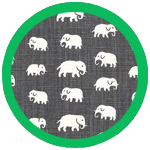 Elefant Grey Green