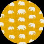 Elefant Gul