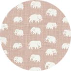 Elefant Ljusrosa