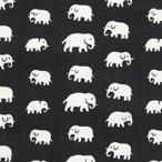 Elefant Svart