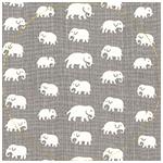 Elefant Varmgrå