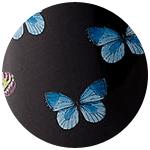 Farfalle Svart
